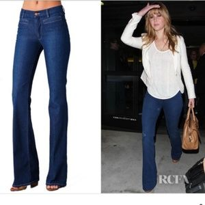 MIH London Anthropologie High Rise Wide Leg Jeans